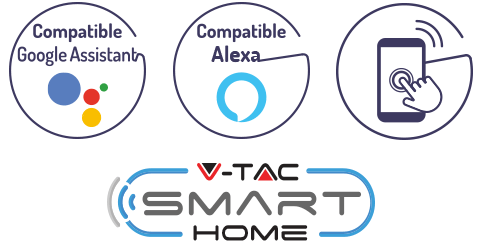 Logo V-TAC Smart Home