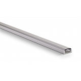 Profile aluminium Saillie 17x7mm 2m - Sans diffuseur