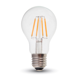 Ampoule LED V-TAC FILAMENT 4W E27 VARIABLE VT-1885D