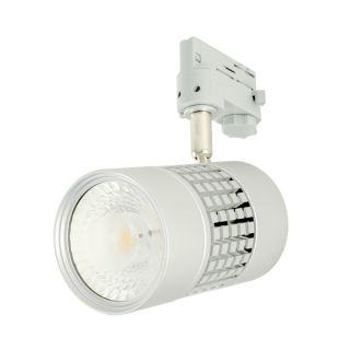 Spot sur Rail LED CLAREO 3 allumages Orientable 36W Gris